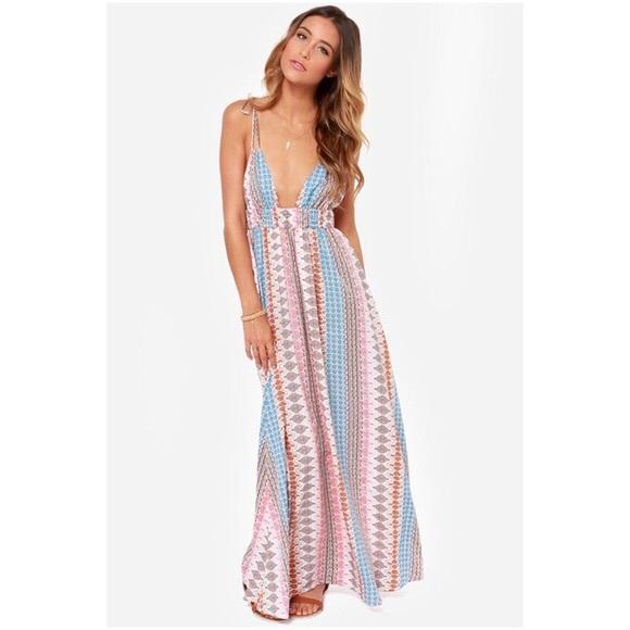 f5f20fa3e0 Lulu s Dresses   Skirts - Lulus Boho Maxi Flowy Summer Dress ...